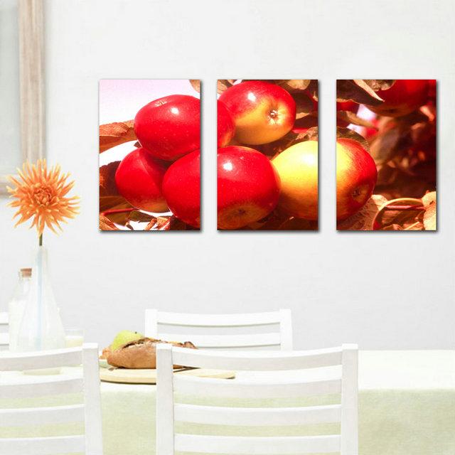 Keuken Decoratie Appel : Apple Wall Art Promotie-Winkel voor promoties Apple Wall Art op