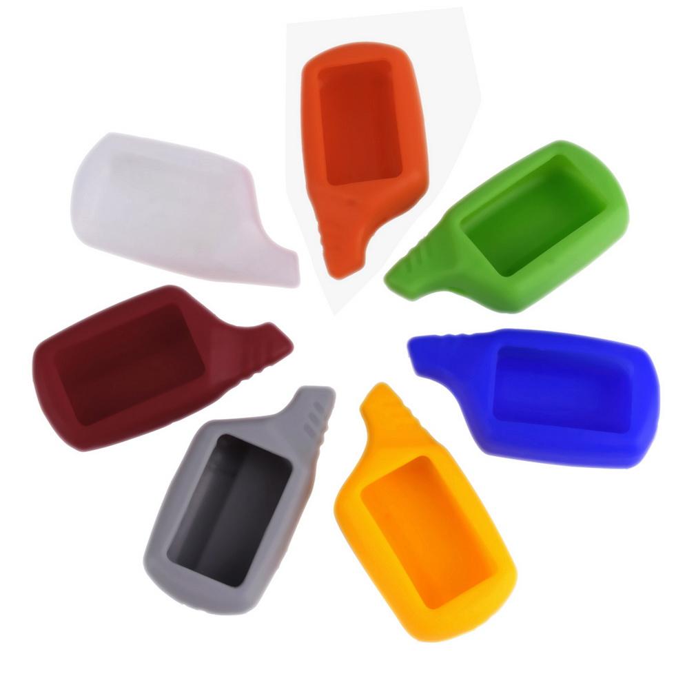 7 цветов русская версия B9 чехол силиконовый чехол для старлайн B9 / B6 / A61 / A91 двухсторонней пульт дистанционного управления поиск