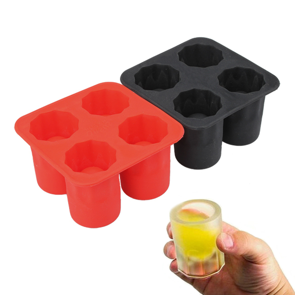 ONLY Bar Party Drink Ice Tray Cool Brain Shape Ice Cube Freeze Mold Ice Maker Mould Shooters Supplies Shot Glasses(China (Mainland))