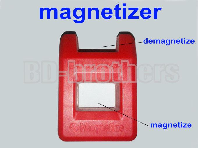 40mm Colorful Mini Magnetizer / Demagnetizer Tools for Screwdriver 10pcs/lot<br><br>Aliexpress