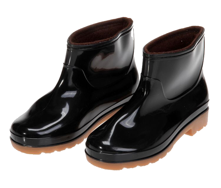 Low Cut Rain Boots - Cr Boot
