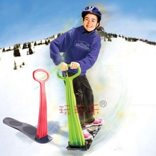 Hot Sell NEW 2015 Winter Foldable Snow Sleds Snowboard Snow scooter skiing Car Board For Kids Toy High Quality Free Shipping(China (Mainland))