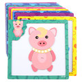 Baby Wooden toys 3D Magnetic wooden Puzzle jigsaw puzzle for children early education cartoon animals puzzles