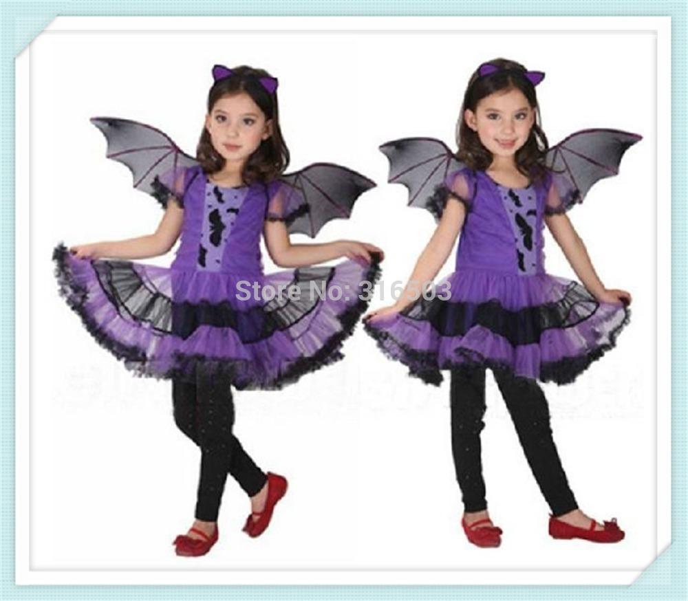 Aliexpress.com Comprar 2015 recién llegado de fiesta de disfraces para niños bailan los trajes para los niños púrpura del palo de Halloween Chrismas del