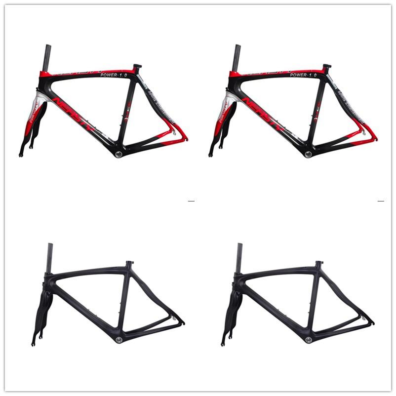 EN Quality Carbon Road Bicycle Bike Frame, Carbon Road Frame+Fork+Clamp, Carbon Frame Road 48cm/50cm/52cm/56cm<br><br>Aliexpress