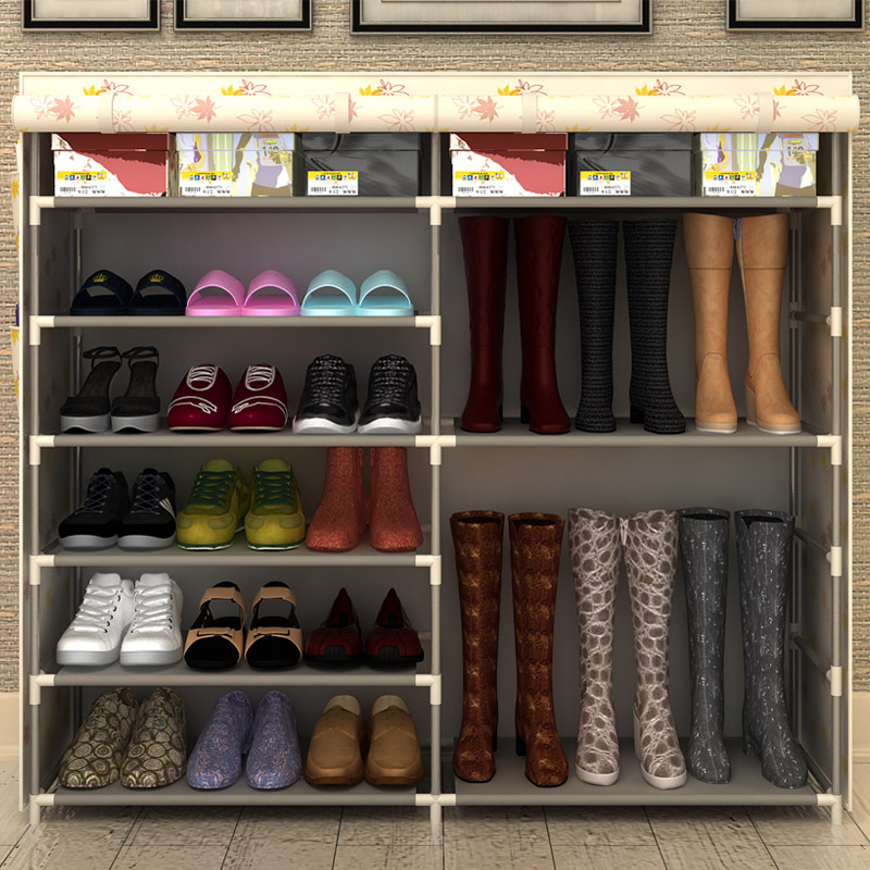 Simple minimalist entrance hall cabinet shoe multifunctional assembled rack locker lockers Specials(China (Mainland))