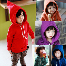 2014 NEW arrive baby Candy colored thickening sweater long-sleeve hoodies cotton kids baby clothing girls boys children sweaters(China (Mainland))