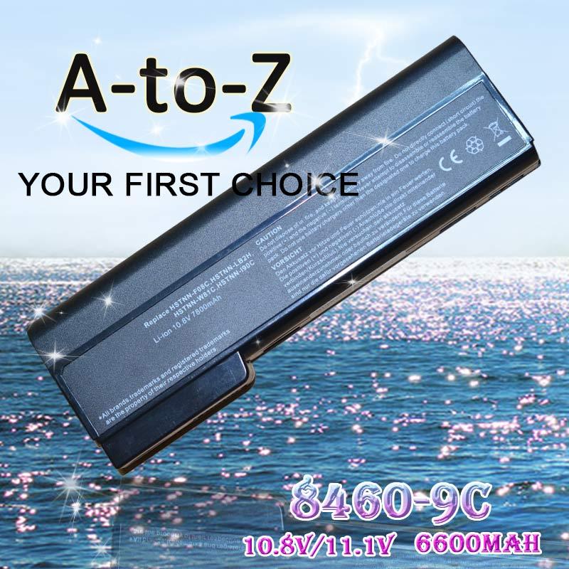 6600mAh laptop battery for HP HSTNN-LB2F HSTNN-LB2G HSTNN-LB2I HSTNN-UB2I HSTNN-W81C QK642AA 6360t Mobile Thin Client(China (Mainland))