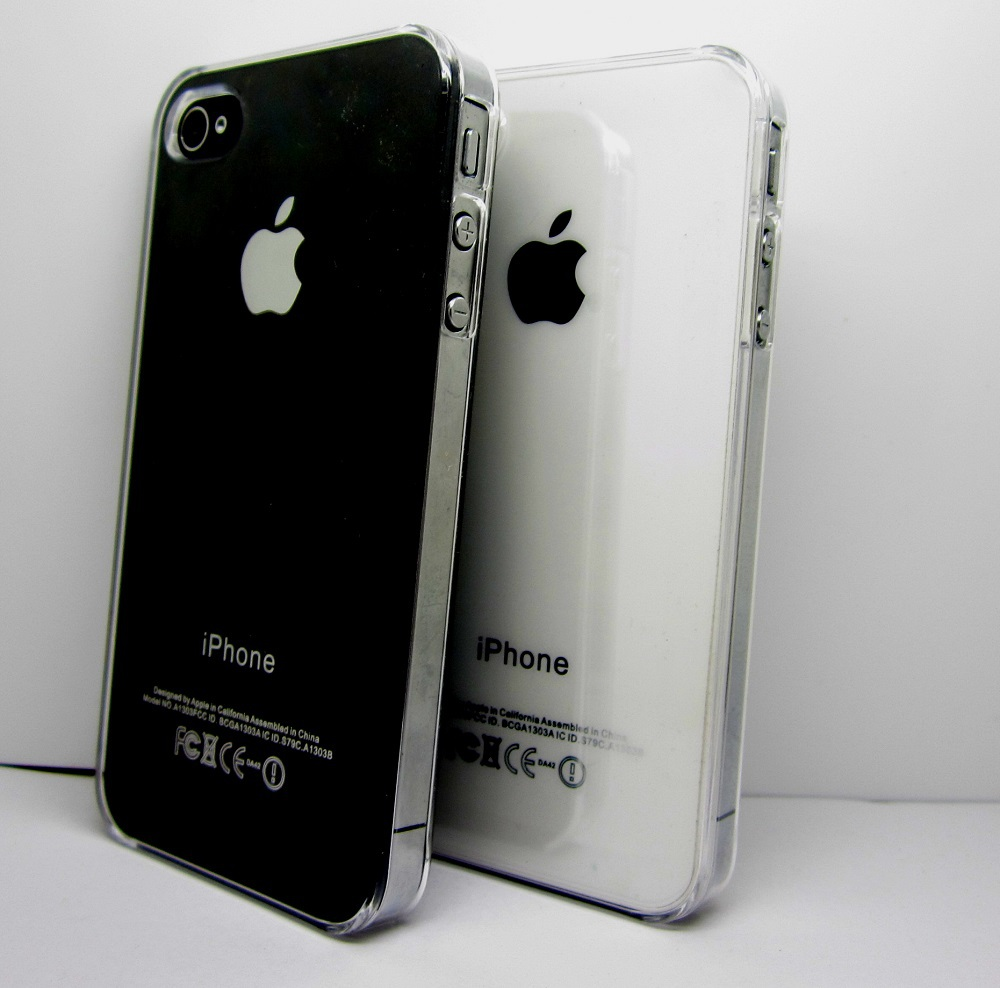 1Pcs Best Clear Transparent Crystal Hard Case for iphone 4 4s(China (Mainland))