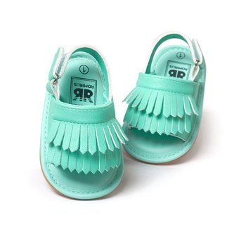 2016 Baby Sandals Summer Leisure Fashion Baby Girls Sandals of Children PU Tassel Shoes 7Colors Hot New Arrival
