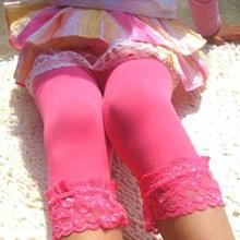 Toddler Kids Girls Lace Velvet Legging Pantyhose Stocking Pant 5 9Y