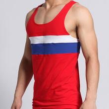 5PCS/LOT New Sexy Wear Clothing Vest Shirt Brand Jersey Sleeveless Top Male Men's T-Shirts Cheap Throwback Tank Tops 1220702-5(China (Mainland))