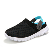 2016 Summer Couple Mesh Slip-On Casual Shoes Men And Women Flat Beach Shoes(China (Mainland))