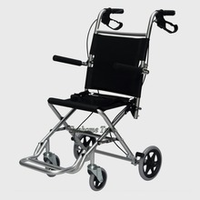 lightweight folding manual wheelchair made of Aluminium allay,multiple sizes travelling wheelchar with bag free charge(China (Mainland))