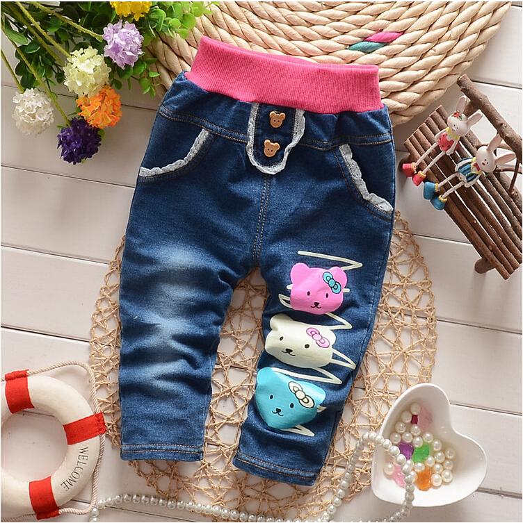 new 2015 spring autumn baby girls winter leggings children outerwear thick pants leisure kids warm velvet girl legging trousers(China (Mainland))