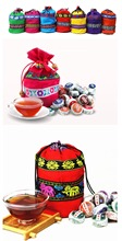 2014 Fashion New 50pcs different kinds Puer Tea Pu erh with 100 natural flower herbal tea
