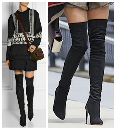 Mid Thigh High Boots