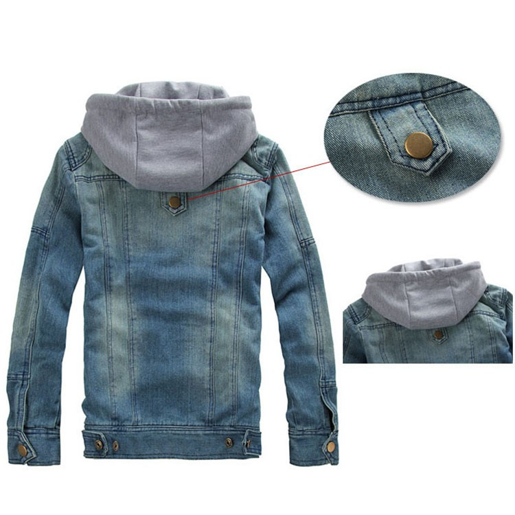 Denim Jacket men Hooded Jean Jackets streetwear Slim fit Vintage Mens Jacket and Coat outdoors Jeans clothing Plus size 4XL 5XL (6)