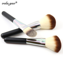 Premium Face Makeup Brushes Set 3Pcs Powder Blush Foundation Brush For Face Makeup Tool