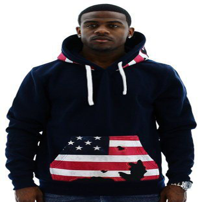 2015 American Men Sweatshirt Trade Flag Printed Hoodie Hooded Thick Harajuku Coat Hoodies XXXL - Jackson William Professional Apparel & Accessories store