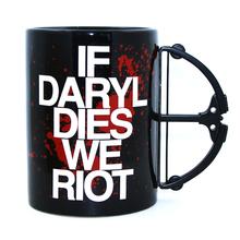 Buy Free 1Piece Funny Coffee Mug Daryl Dixon Walking Dead Daryl Dies Riot Crossbow Mug Porcelain Milk Coffee Mug for $15.77 in AliExpress store
