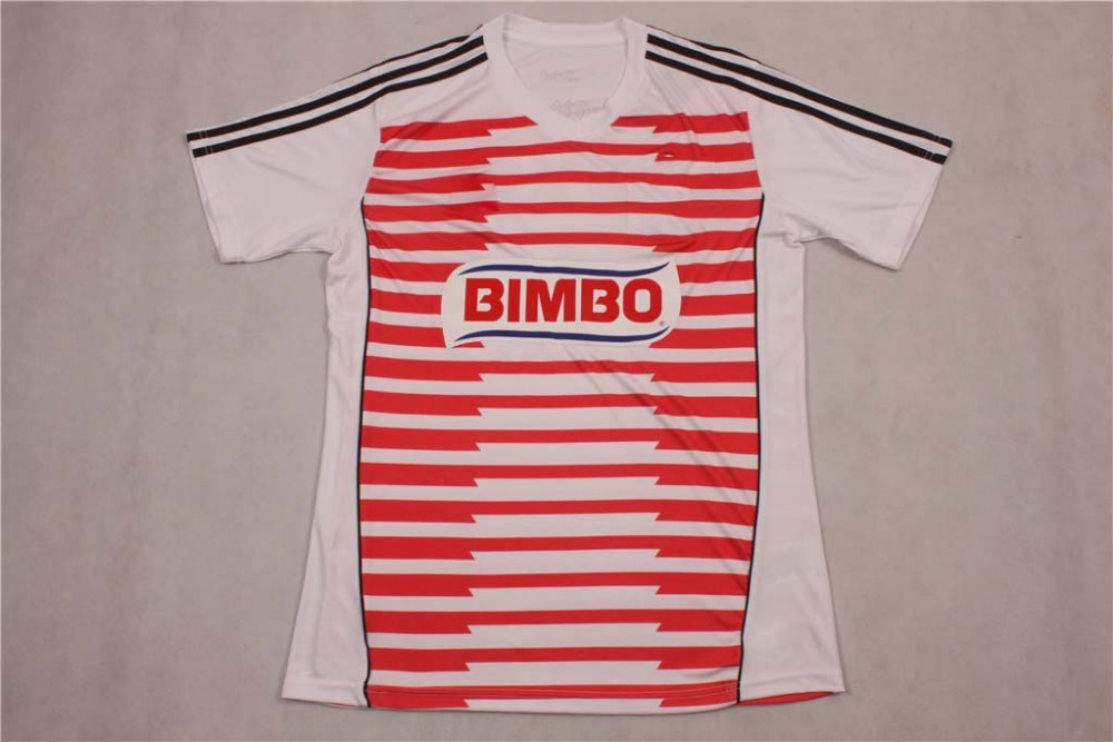 New arrival Thai quality best selling 2015-2016 Mexico Chivas Guadalajara home soccer jersey(China (Mainland))
