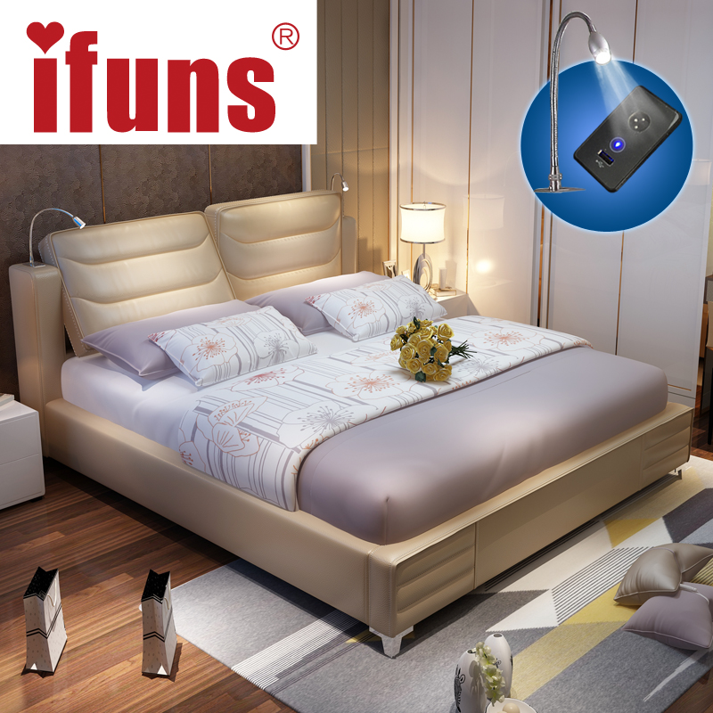 ifuns luxury bedroom furniture sets queen size modern