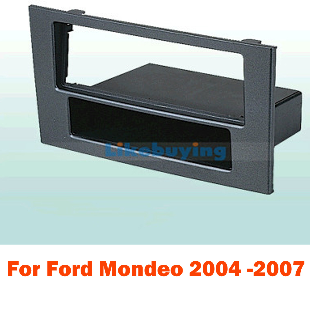 1 Din Car Kit / Car Fascia Panel / Audio Panel Frame / Car Dash Frame Kit For Ford Mondeo 2004 2005 2006 2007 Free Shipping(China (Mainland))