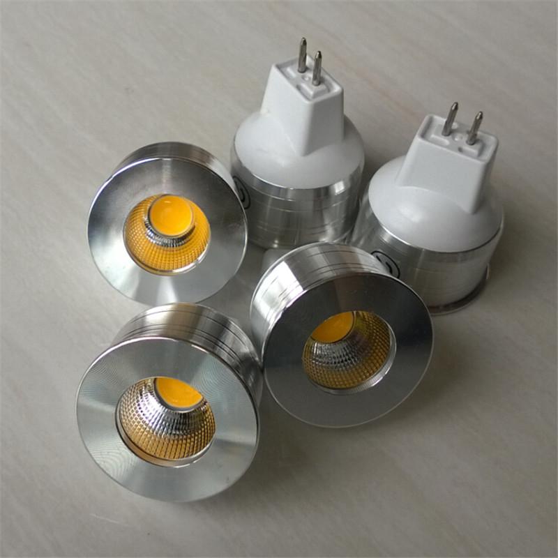 50PCS New 5W MINI Dimmable GU4 MR11 COB LED Spot Lamp MR11 LED COB Lamp light Free shipping(China (Mainland))
