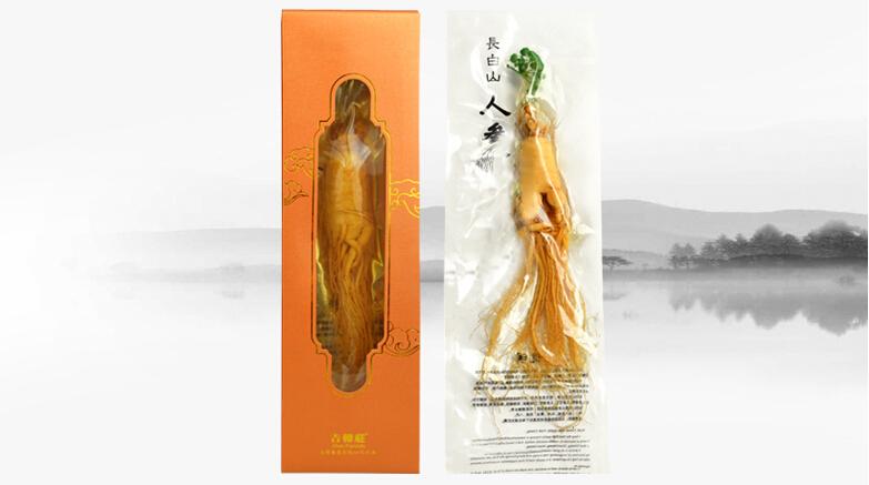 120g piece 8 years ginseng Changbai Mountain Dried Ginseng Insam Ginseng Tea food Ginseng Root Organic