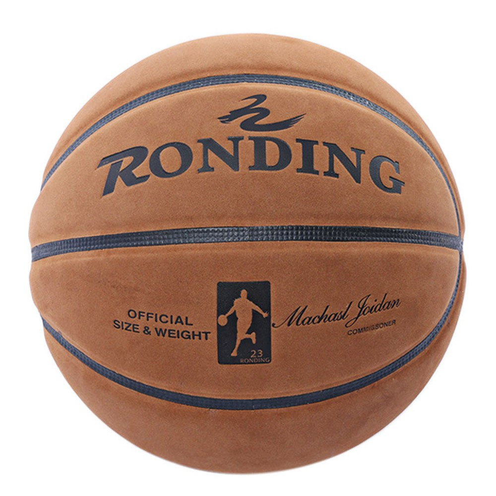 Size 7 offical size cowhide leather basketball ball RONDING U2300 Wear Resistant for Game Practice Indoor Outdoor(China (Mainland))