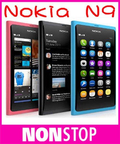 N9 Original Nokia N9 Nokia N9-00 GPS WIFI 3G GSM 8MP Camera 16GB Internal Unlocked Mobile Phone