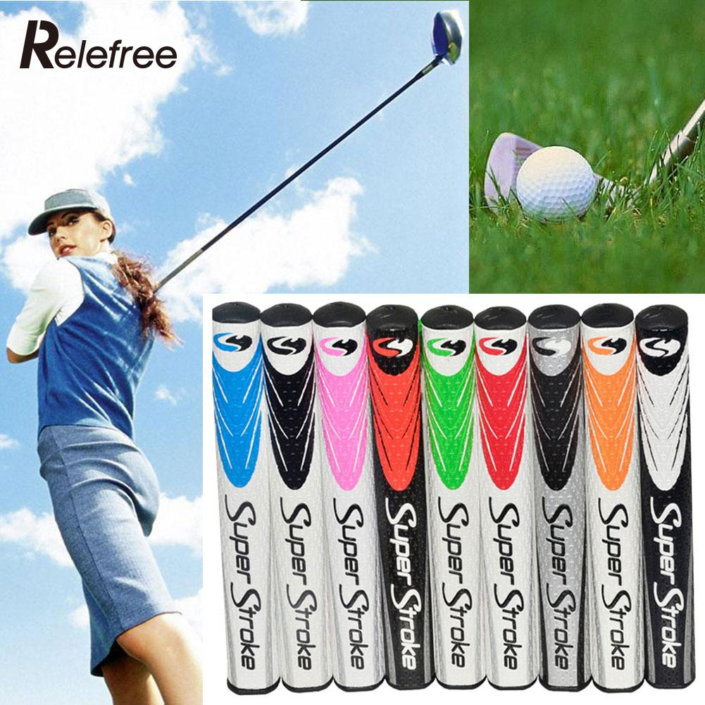 Golf Club Putter PU Grip Wrap Ultralight Slim Non-slip Golfer Training Aid Golf Grip(China (Mainland))