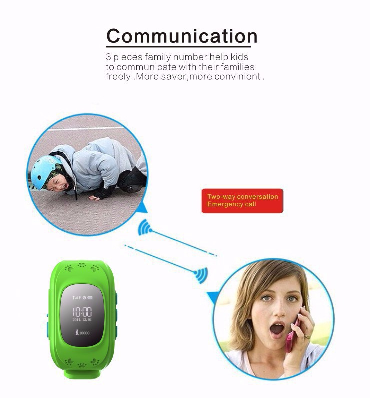HQ Anti Lost GPS Tracker Watch For Kids SOS Emergency GSM Smart Mobile Phone App For IOS & Android Smartwatch Wristband reloj