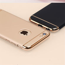 Luxury Ultra Thin Shockproof Cover Coque Phone Case for iPhone 6 6s 7 Plus 360 Full Body Coverage Phone Cases For i6 i6s i7 Plus(China (Mainland))