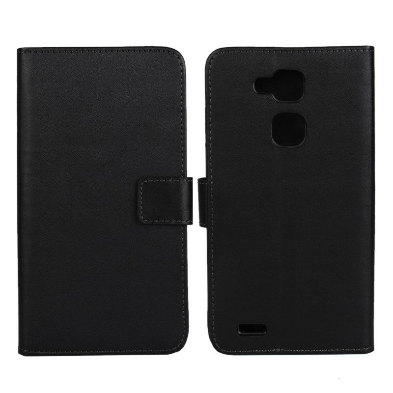 1PCS Fashion Black PU Leather Mulit Stand Folding Money Wallet Case for Huawei Ascend Mate 7 with ID Card Holder Free Shipping(China (Mainland))