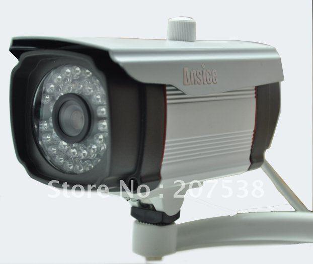 Free shipping Video 36 Infrared CCD Camera bullet Low illumination Sony EFFIO-E 750TVL 6mm lens security waterproof/Outdoor(China (Mainland))
