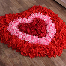 Fashion 2016 New Wholesale 1000pcs/lot Atificial Flowers Polyester Wedding Decorations Wedding Rose Petals patal Flower(China (Mainland))