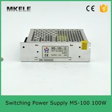 Ms-100-27 27 В регулируемая из светодиодов питания 100 Вт с сертификацией CE один выход 27vdc 3.7a хорошими показателями