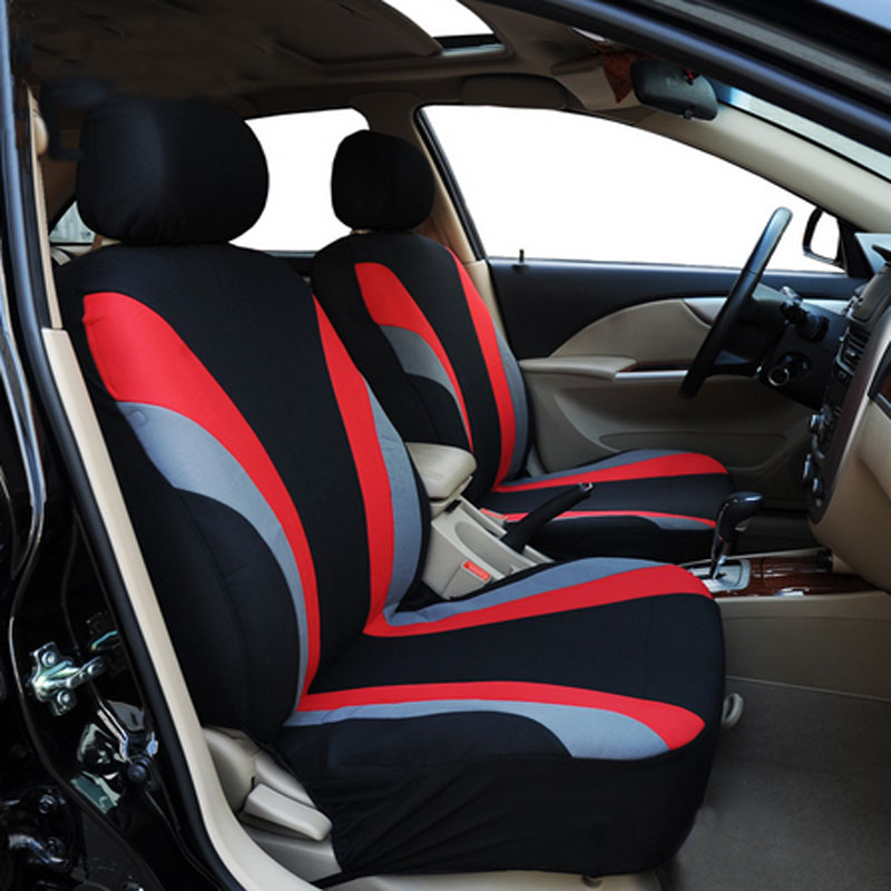 Fashion Green Car Seat Cover Universal Fit 95% above Vehicles Seat Covers Car Seat Protector 5 Color Car Styling M-26(China (Mainland))