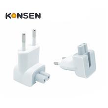 Переменного тока съемный электрические евро ес розетка утка голова для iPad Apple , iPhone USB зарядное устройство MacBook адаптер питания бесплатная доставка