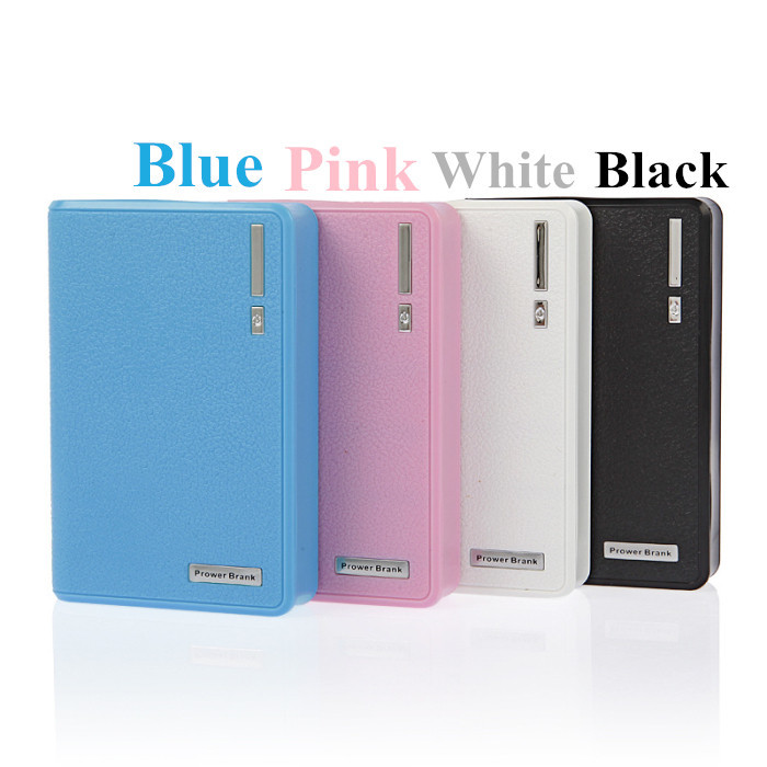 20000mah Wallet Style Portable Power Bank With Dual USB LED Light External Battery Backup Charger For Iphone Samsung LG Sony HTC(China (Mainland))