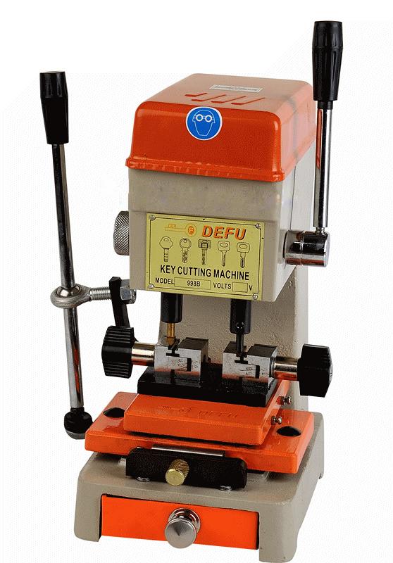 Copy Key Cutter ,key cutting machine.locksmith tools lock pick set.door lock opener.key spare part.DEFU 998B(China (Mainland))