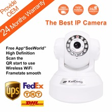 Free Shipping Wifi ip camera Ipcam Plug &Play Ipcamera Free Iphone Android App KaiCong 1602wen P2P Oem Support Fast Delivery