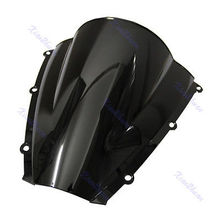 B86″Motorcycle Windshield WindScreen For Honda CBR600RR CBR 600 RR 2003-2004 Black