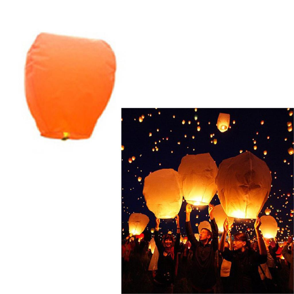 5 Pcs Chinese KongMing Sky Fire Lanterns For Party Wedding Birthday Hot 9 Color high quality(China (Mainland))