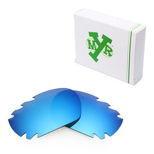 MRY POLARIZED Replacement Lenses for Oakley Jawbone Vented Sunglasses Ice Blue
