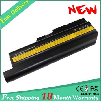 """9 cells 7800mah Laptop Battery For IBM ThinkPad R61 R61i 14.1"""" &15.0"""" standard screens and 15.4"""" widescreen R61e 15.4""""widescreen"""
