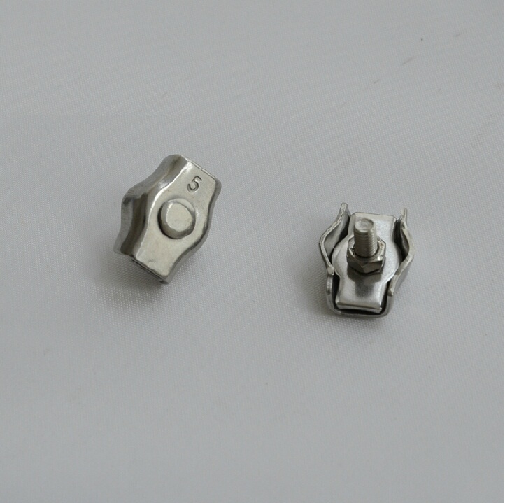 M8 SS304 SS316 Stainless Steel Wire Rope industrial Cable Simplex Clamp All Sizes in stock<br><br>Aliexpress