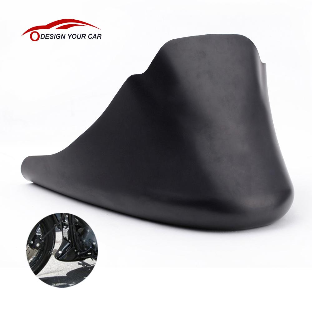 Matte Black Lower Front Spoiler Chin Fairing Sportster 2004-2014 XL883 XL1200(China (Mainland))